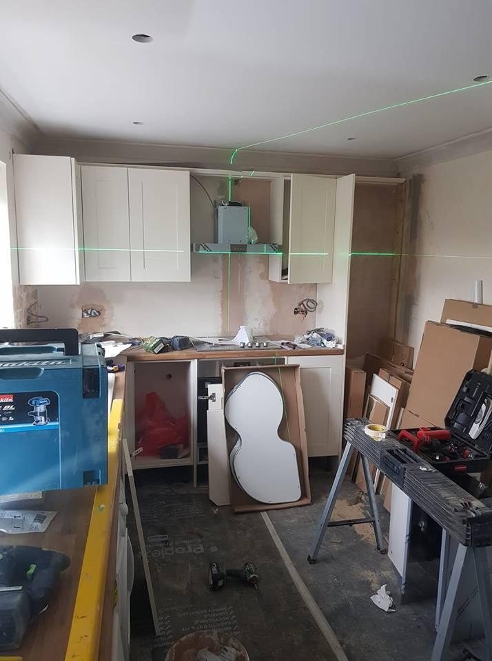 kitchen install 15