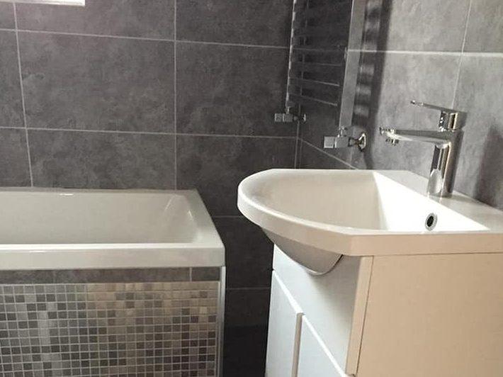 bathroom install 5