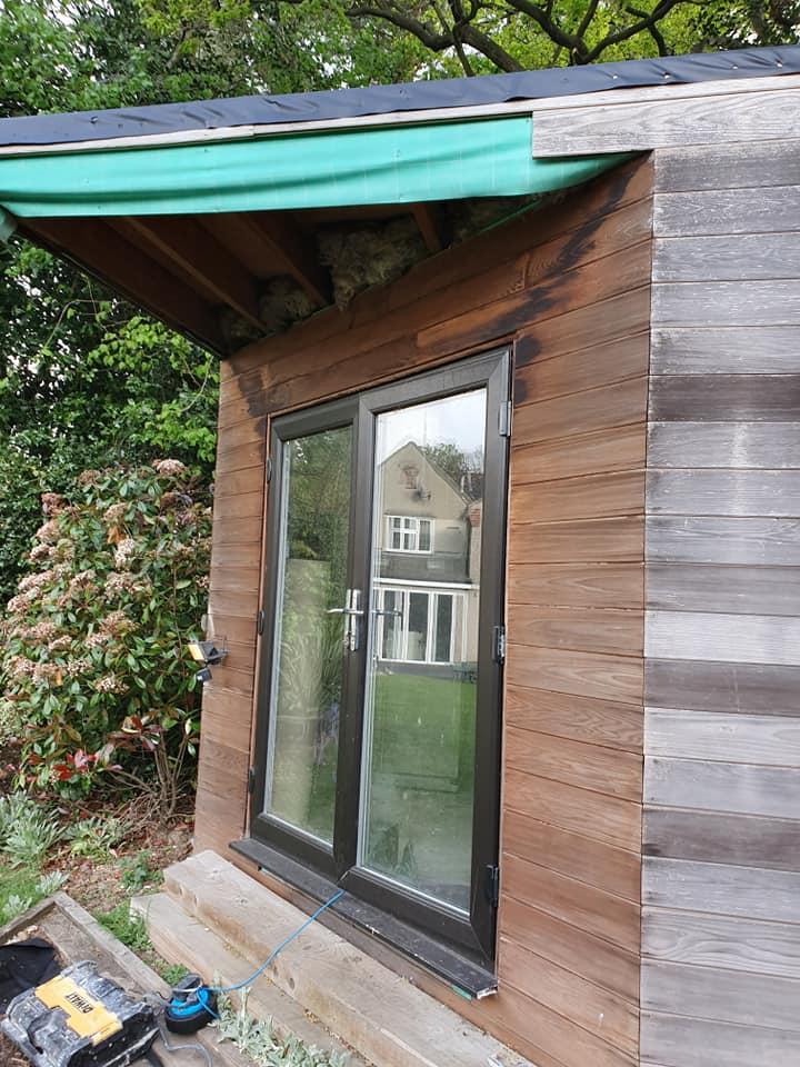 Summerhouse refurbishment Hertfordshire