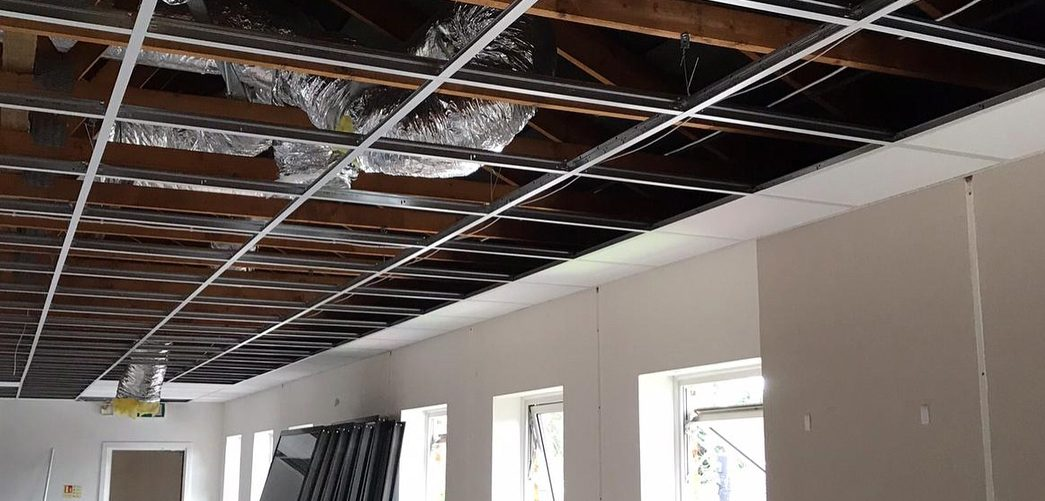 replace suspended ceiling london