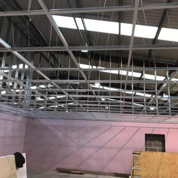 suspended ceilings in schools