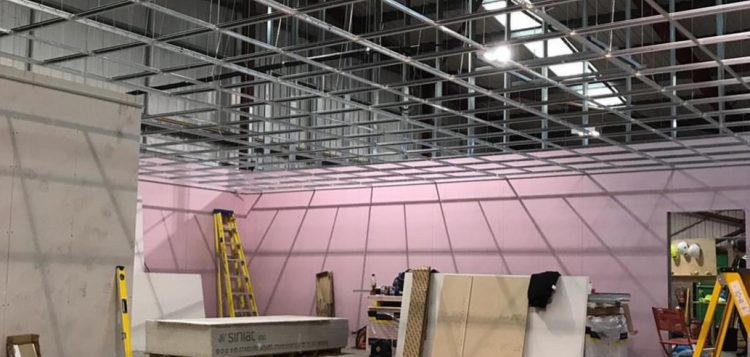 suspended ceilings in offices