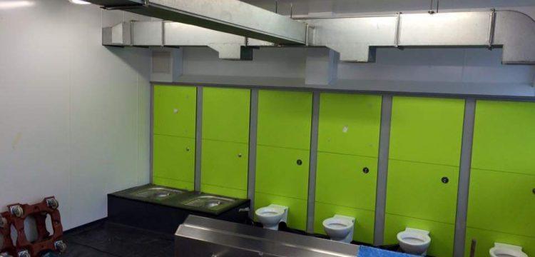 toilet cubicles London