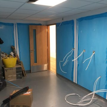 Hygienic wall cladding installer - London